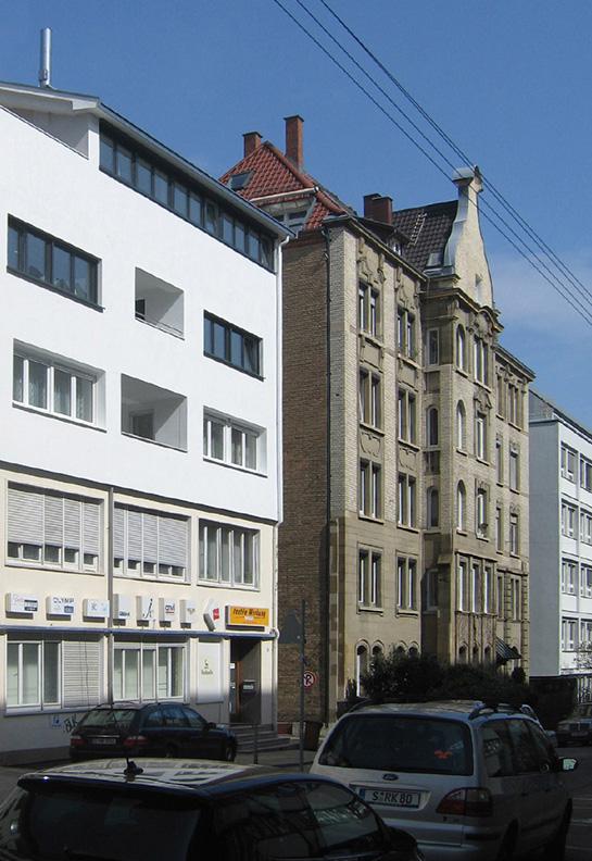 Bauen im Bestand, Lindenspürstraße Stuttgart, Aufstockung im laufenden Betrieb