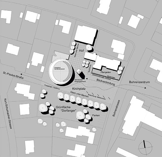 Form und Funktion – Realisierungswettbewerb Pfarrkirche St. Paulus, Balingen