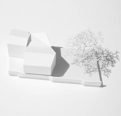 Wettbewerbsmodell Architekturwettbewerb