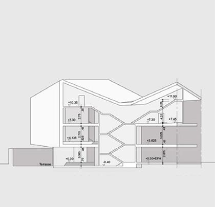 Bauen im Bestand, Alt und Neu, in Nachbarschaft zum Brixner Dom, Brixen, Brunogasse