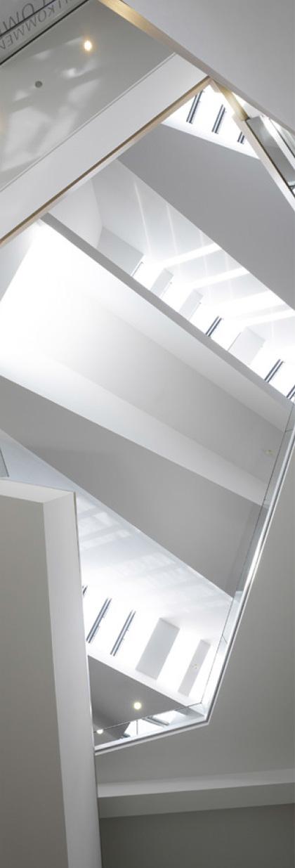 Dachuntersicht mit RWA Öffnungen